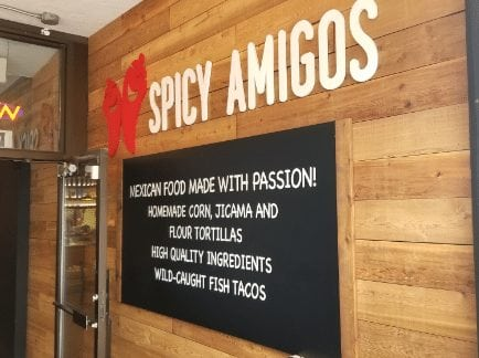 spicy amigos calgary alberta downtown west end mexican food