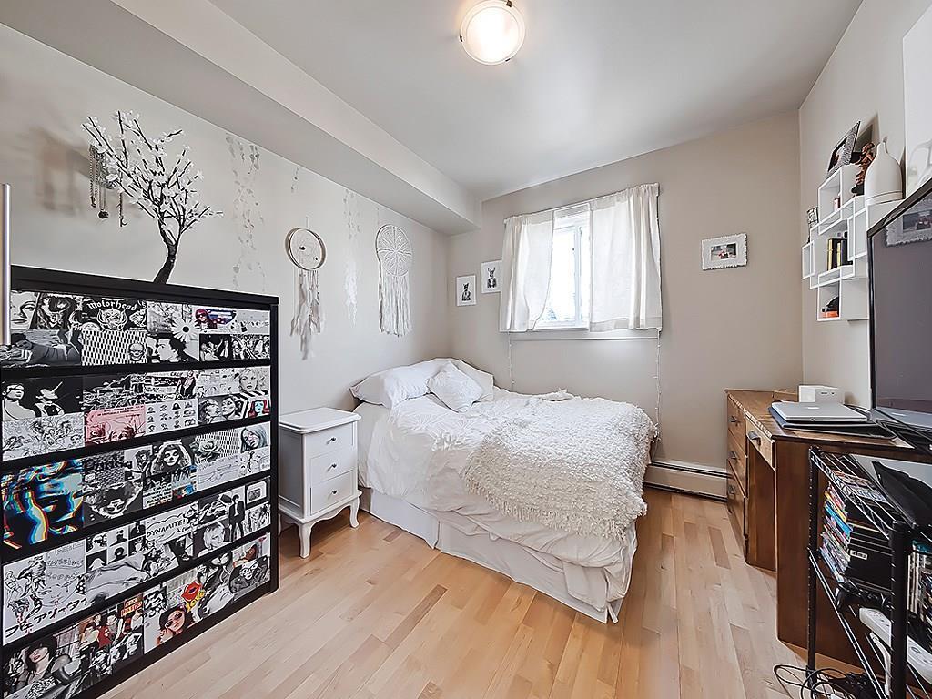 bankview calgary condo interior master bedroom