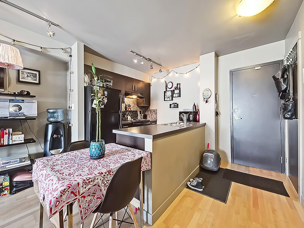 bankview calgary condo interior kitchen living area