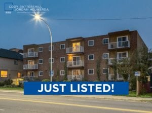 JUST LISTED! – #403, 2221 14th Street SW