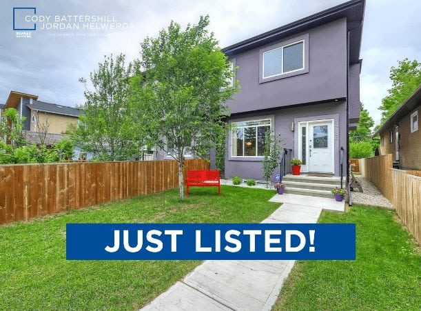 just listed 4726 Bowness Road NW, Montgomery, Calgary