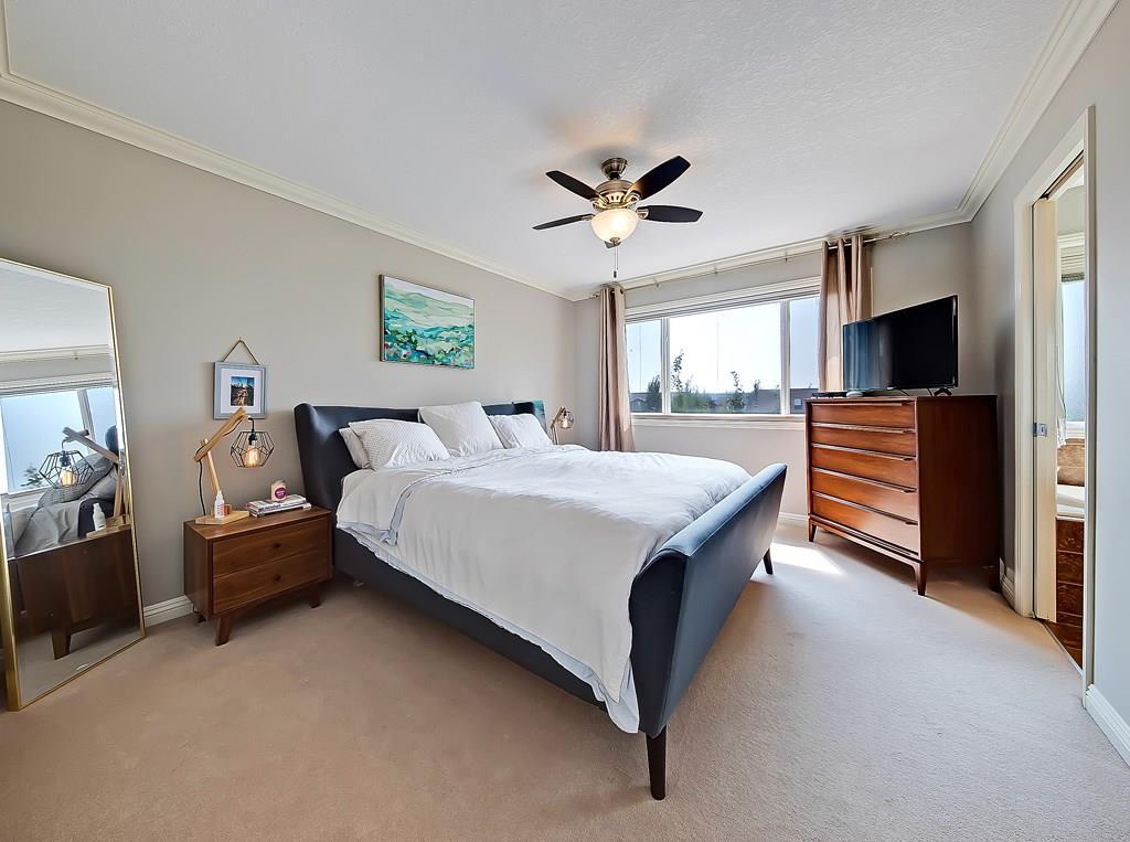 airdrie home for sale 2479 kingsland view se master bedroom