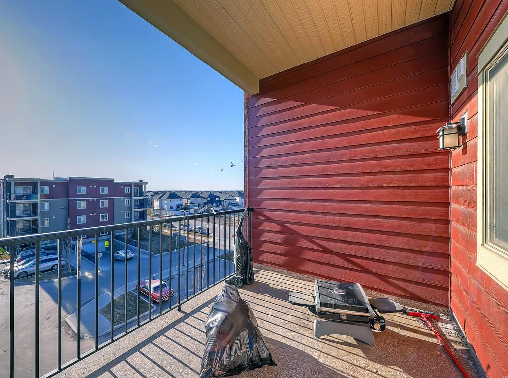 saddlestone calgary condo for sale #404, 15 saddlestone way ne balcony view