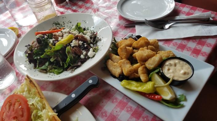 salad appetizers toloulous banff alberta