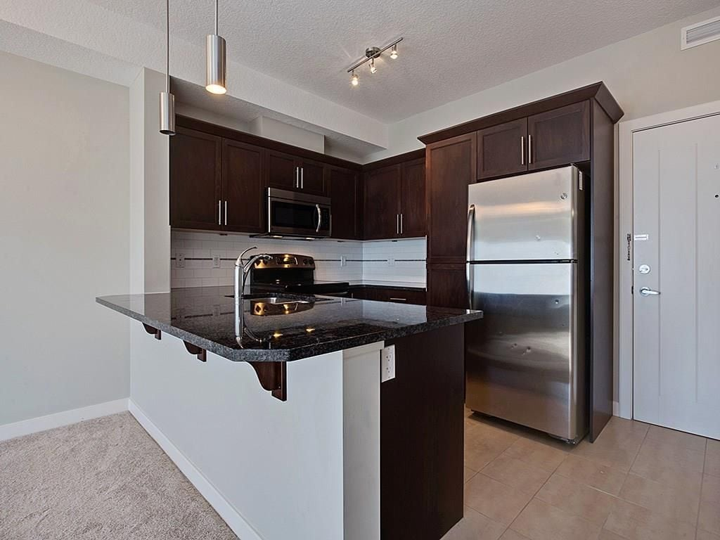 red haus royal oak condo for sale kitchen view