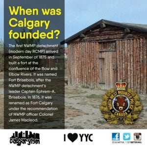 When Was the City of Calgary Founded?