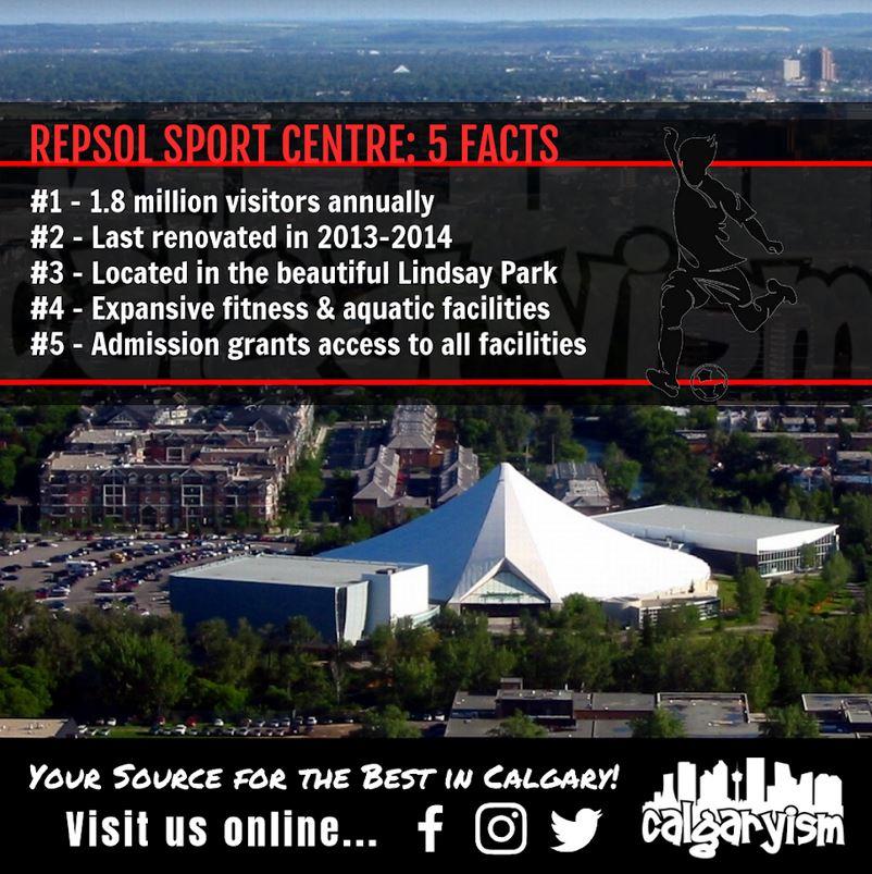 5 facts infographic repsol sport centre calgary