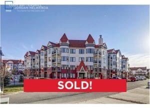 sold condo at Red Haus in northwest Calgary