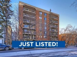 JUST LISTED! – #501 – 537 14th Avenue SW