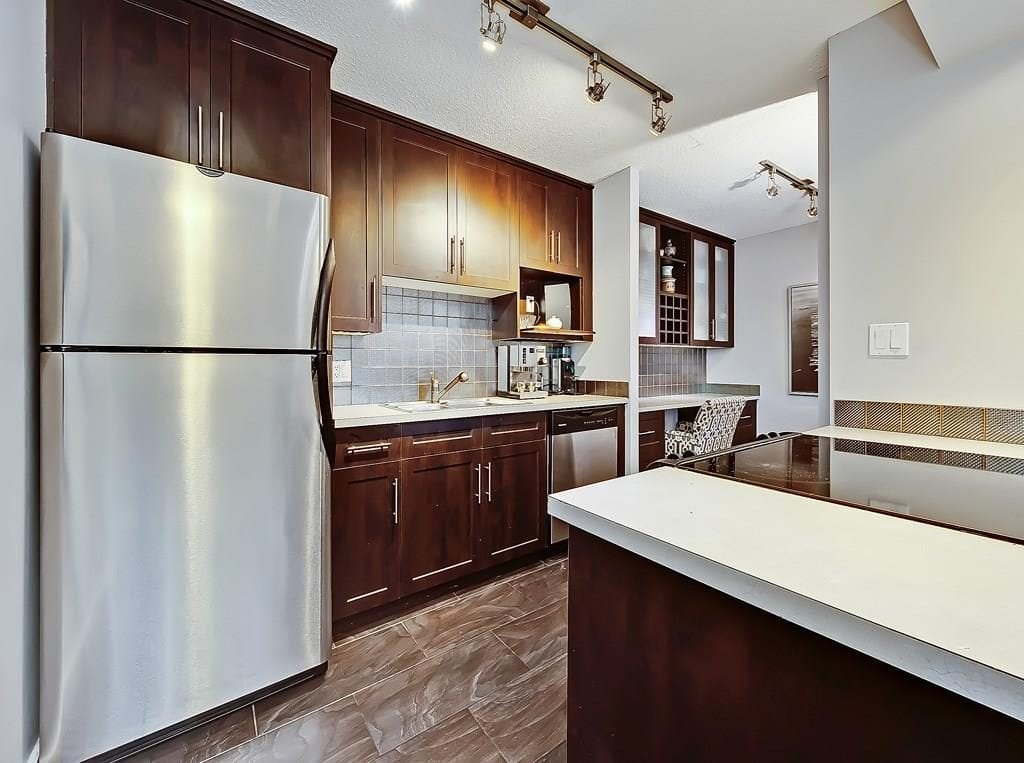 kitchen view 3 at beltline condo for sale in calgary