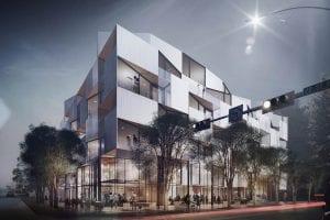 courtyard 33 new condos marda loop exterior rendering