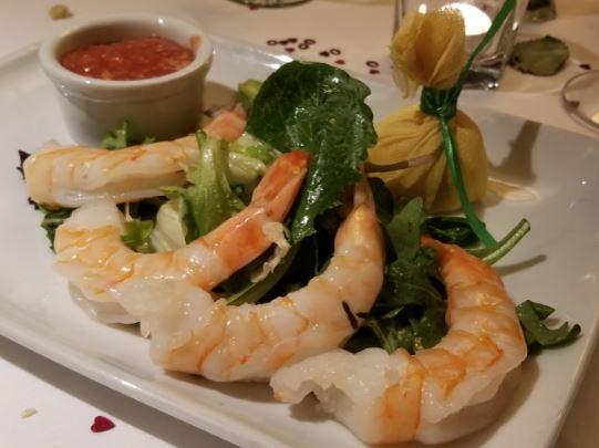 shrimp cocktail ruth's chris downtown calgary