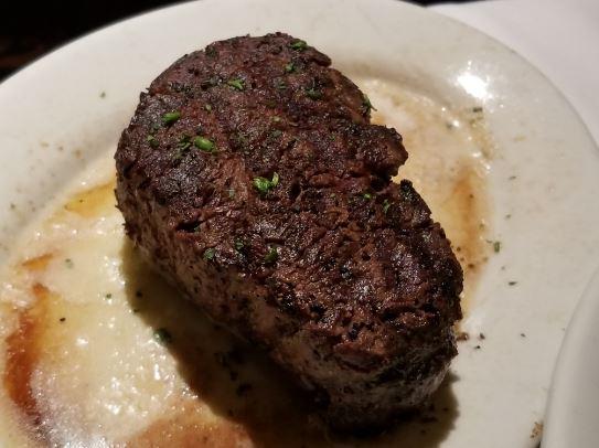 ruth's chris steakhouse downtown calgary filet