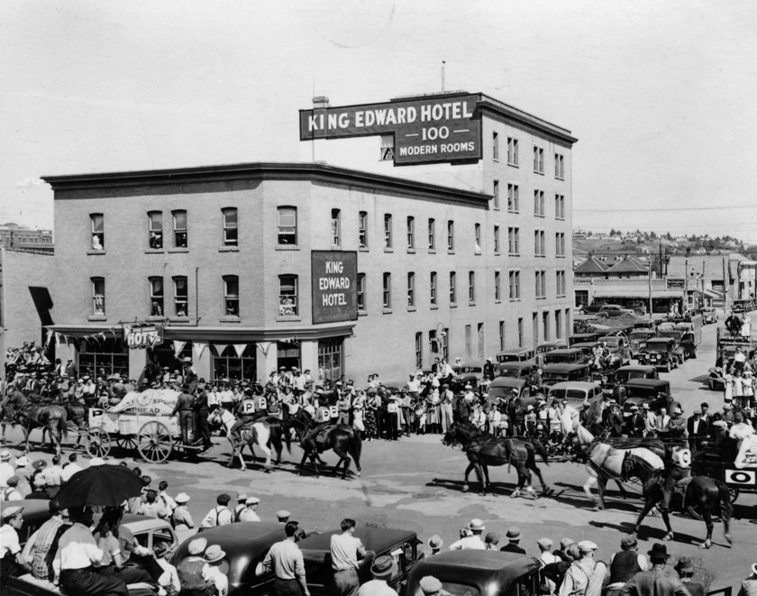 king edward hotel east village historical picture