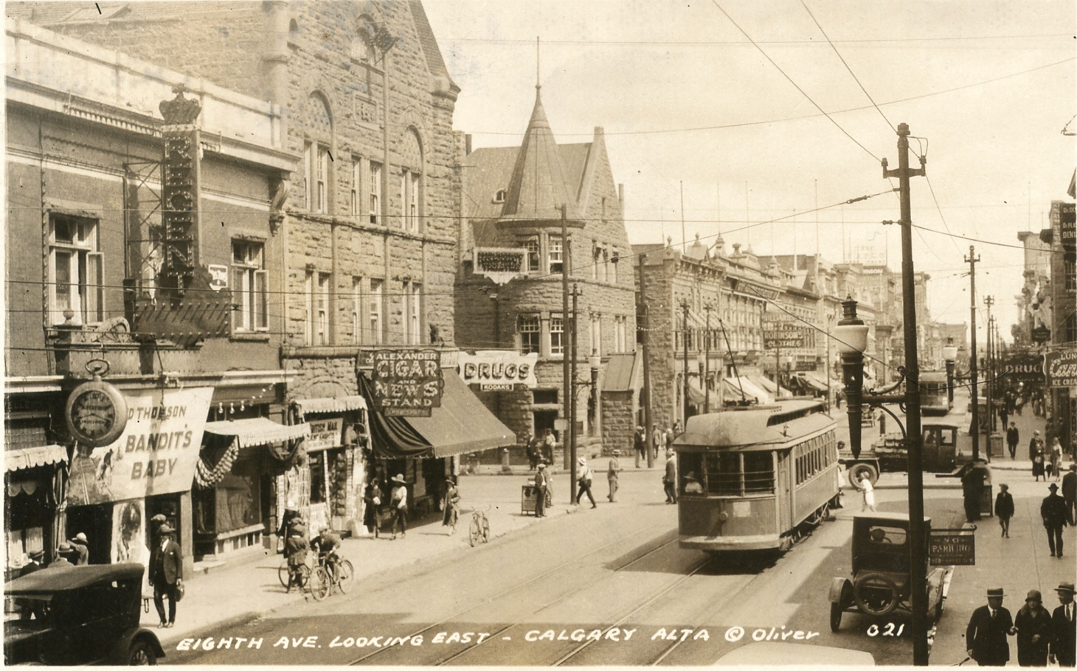 historical photo stephen avenue calgary alberta