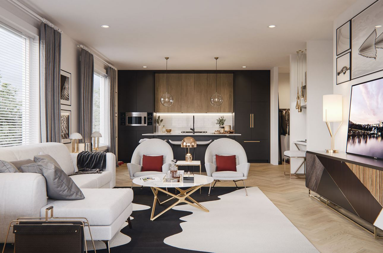 esquire condos by truman homes interior colour palette design scheme