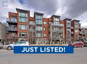 JUST LISTED! – #201, 836 Royal Avenue SW