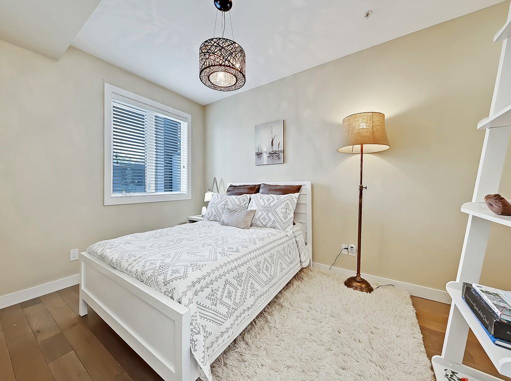 uno condo building lower mount royal bedroom view