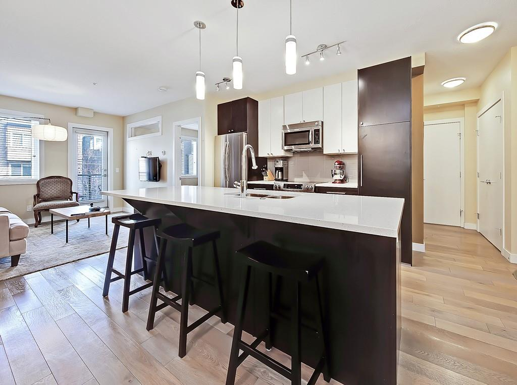 uno condo for sale lower mount royal kitchen