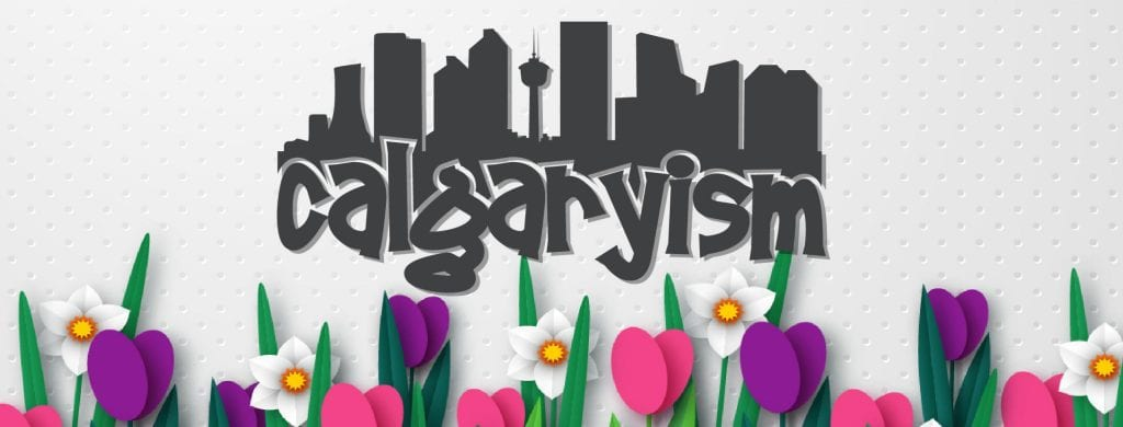 calgaryism springtime banner