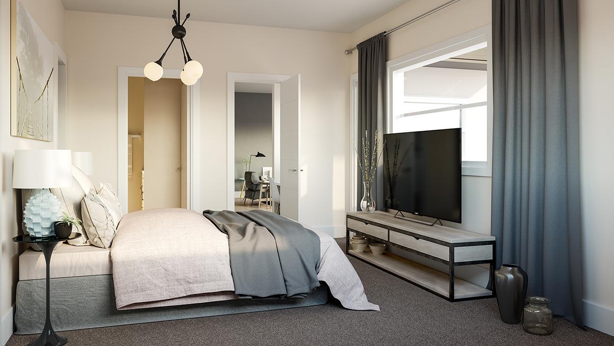 bedroom mantra condos marda loop calgary