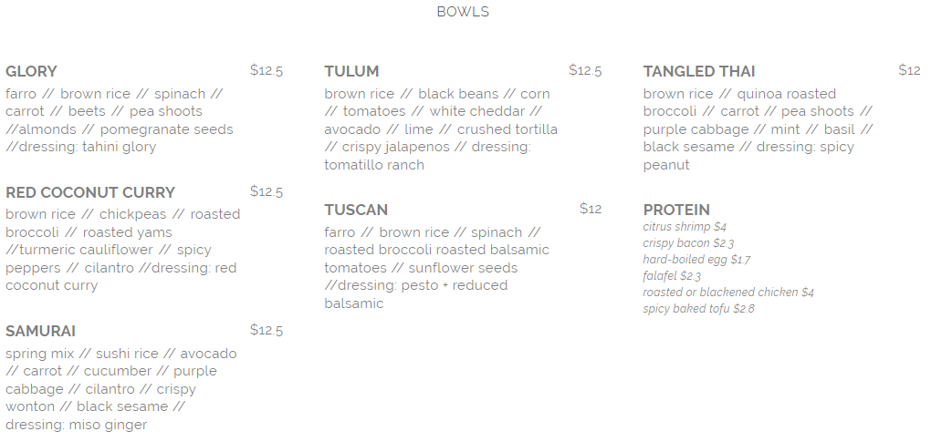 seed n salt bowls menu april 2019