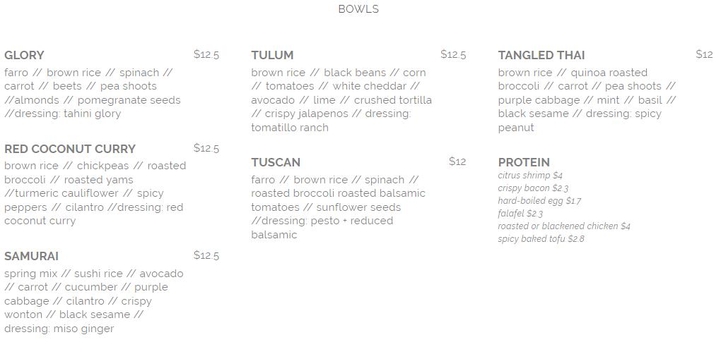 seed n salt bowls menu april 2019