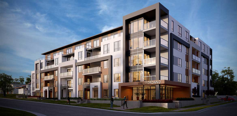 new inner city rental condos the giordano calgary alberta
